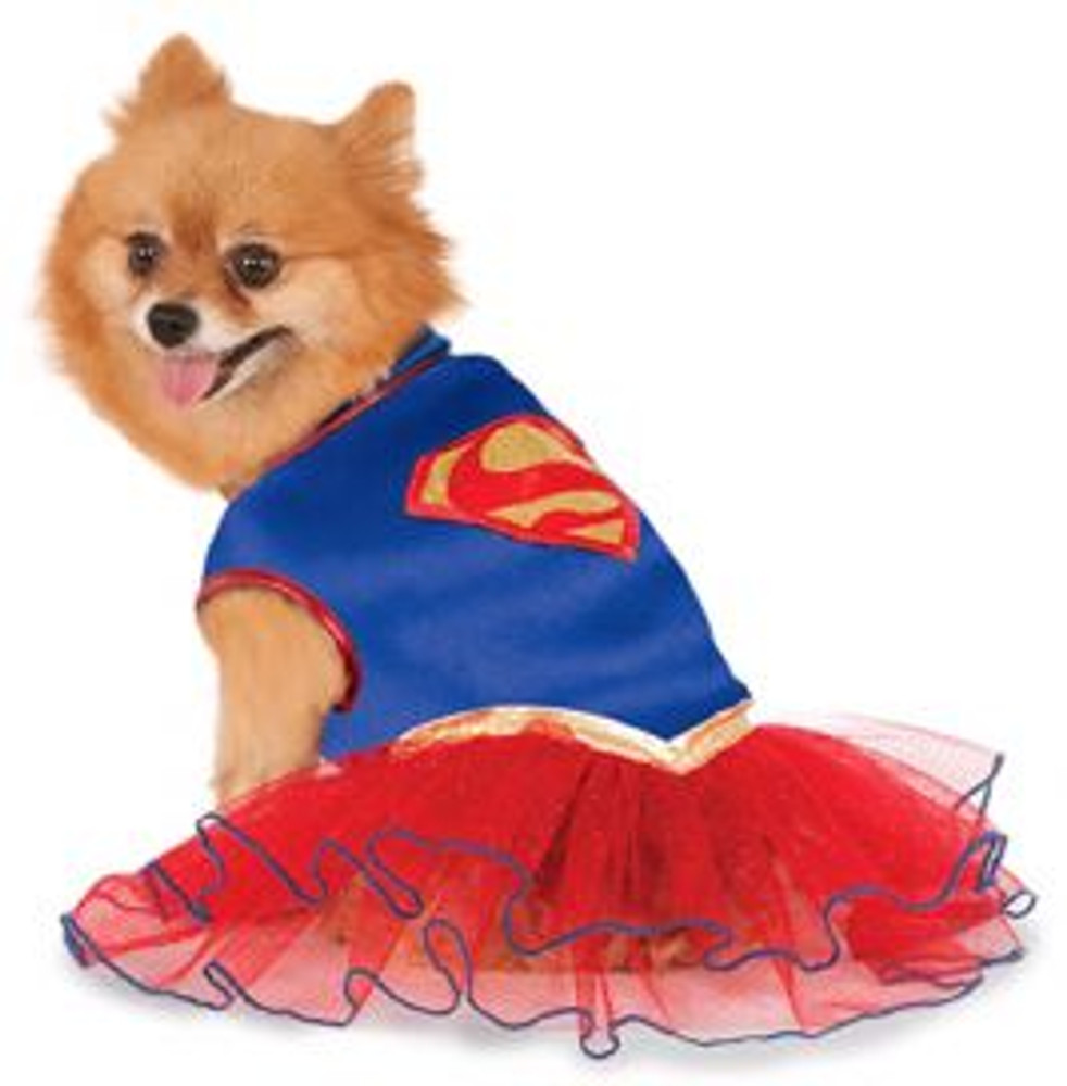 Supergirl Tutu Pet Costume