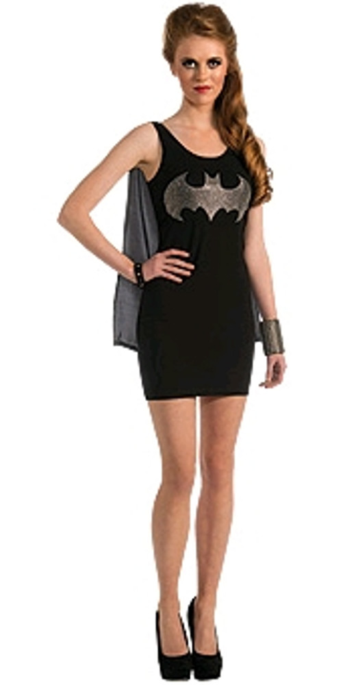 Batgirl Rhinestone Tank Dress Women's Costume