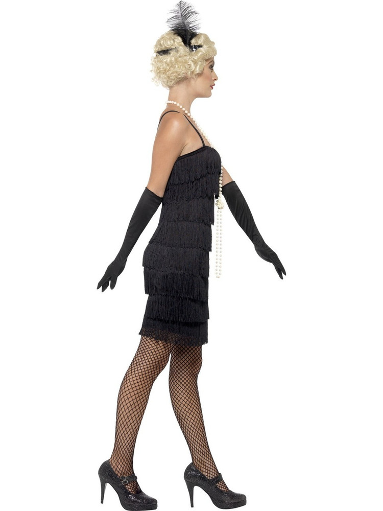 Flapper Black Womens Costume