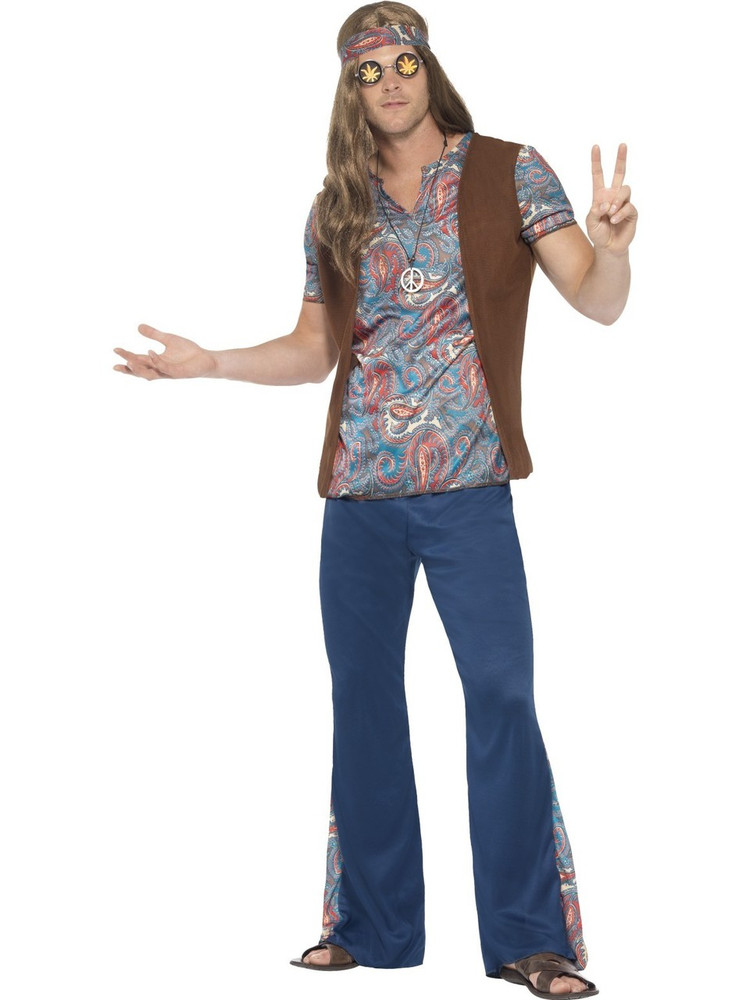 1960s Orion Hippie Mens Costume