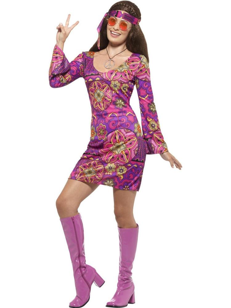 1960s Woodstock Hippie Chick Costume ...  sc 1 st  Costume Direct & Hippie Costumes | 1960s Woodstock Hippie Chick Costume | Woodstock ...