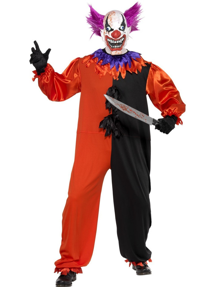 Cirque Sinister Scary Bo Bo the Clown Costume