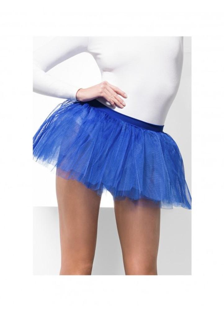 Tutu Underskirt Adult - Blue