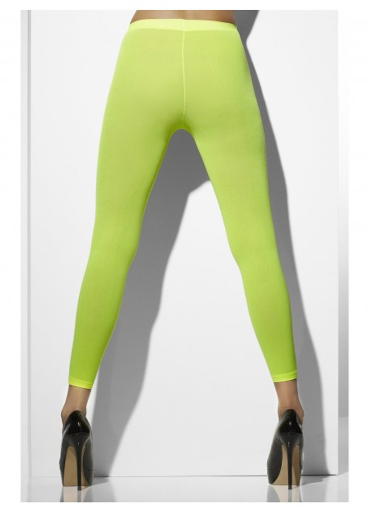 Footless Tights, Neon Green