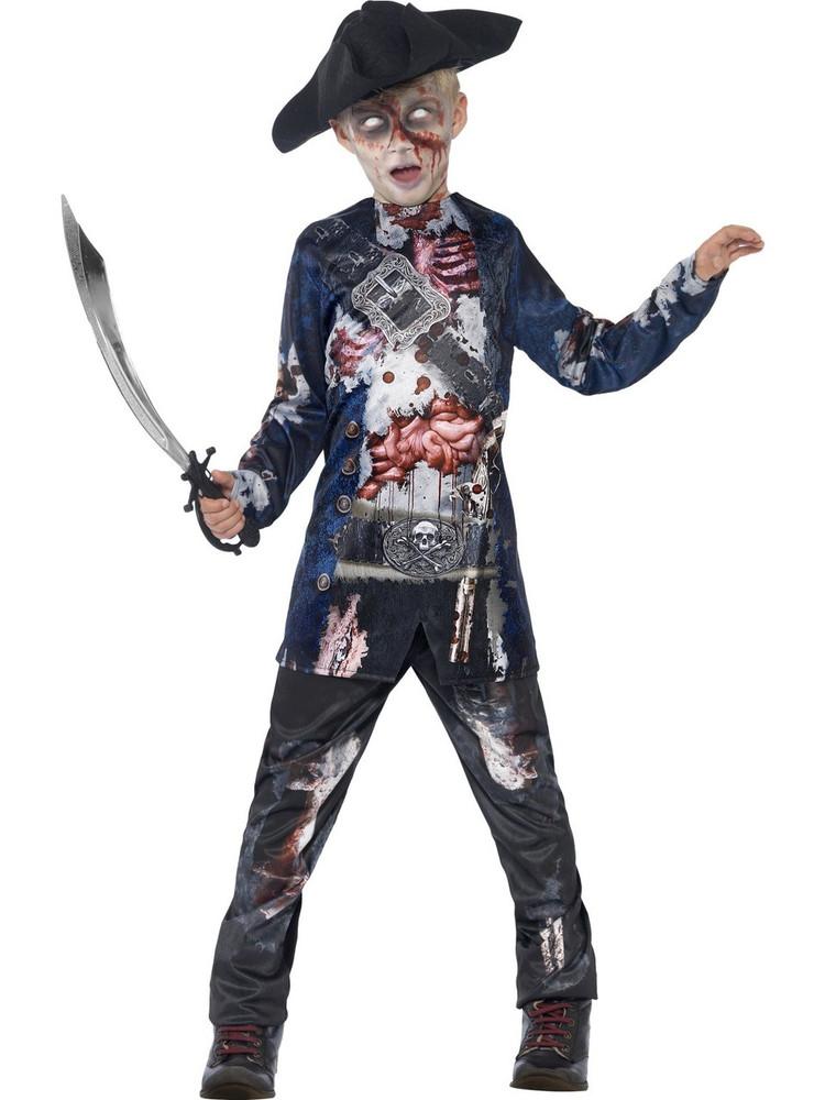 Jolly Rotten Pirate Kids Costume
