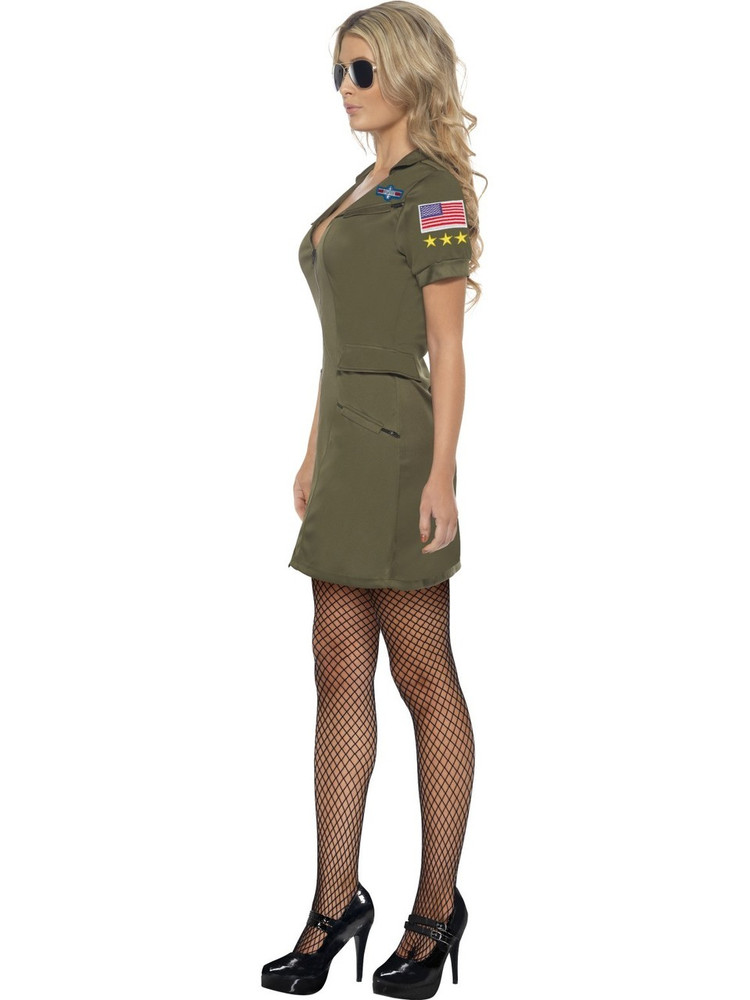 Top Gun Sexy Womens Costume