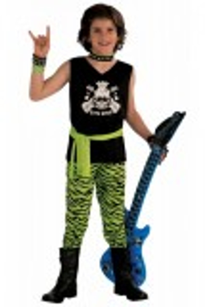 1980's Rock Star Kids Costume