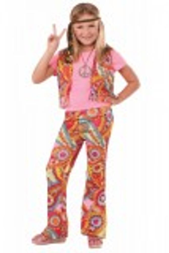 60's 70's Retro Hippie Kids Costume