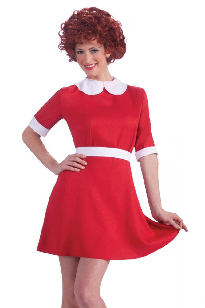 Little Orphan Annie Adult Costume