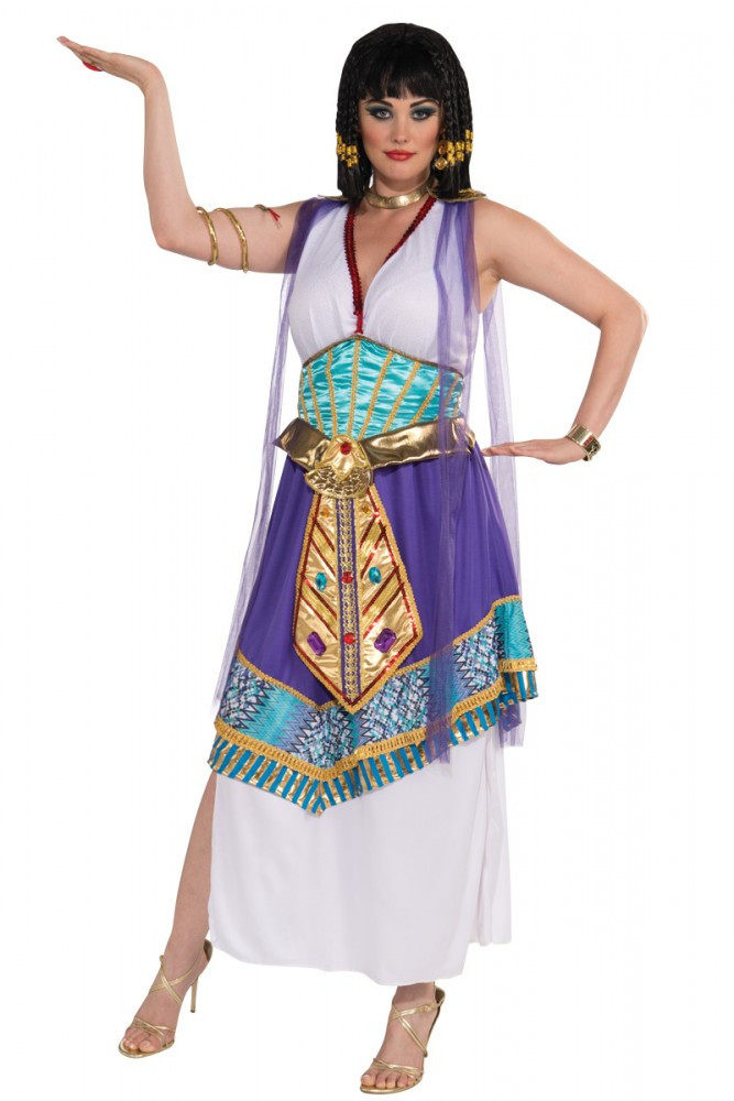 Cleopatra Egyptian Womens Plus Size Costume  sc 1 st  Costume Direct & Fancy Dress Costumes | Cleopatra Egyptian Womens Plus Size Costume ...
