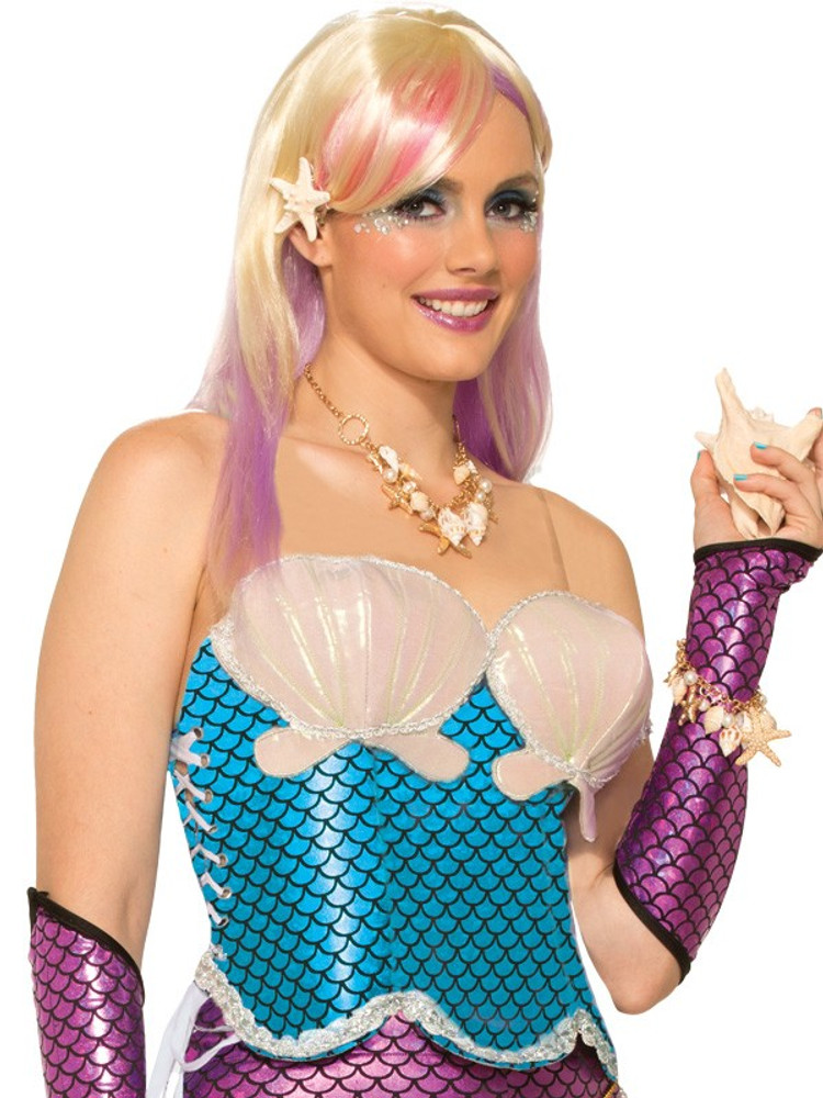 Mermaid Corset Womens Costume