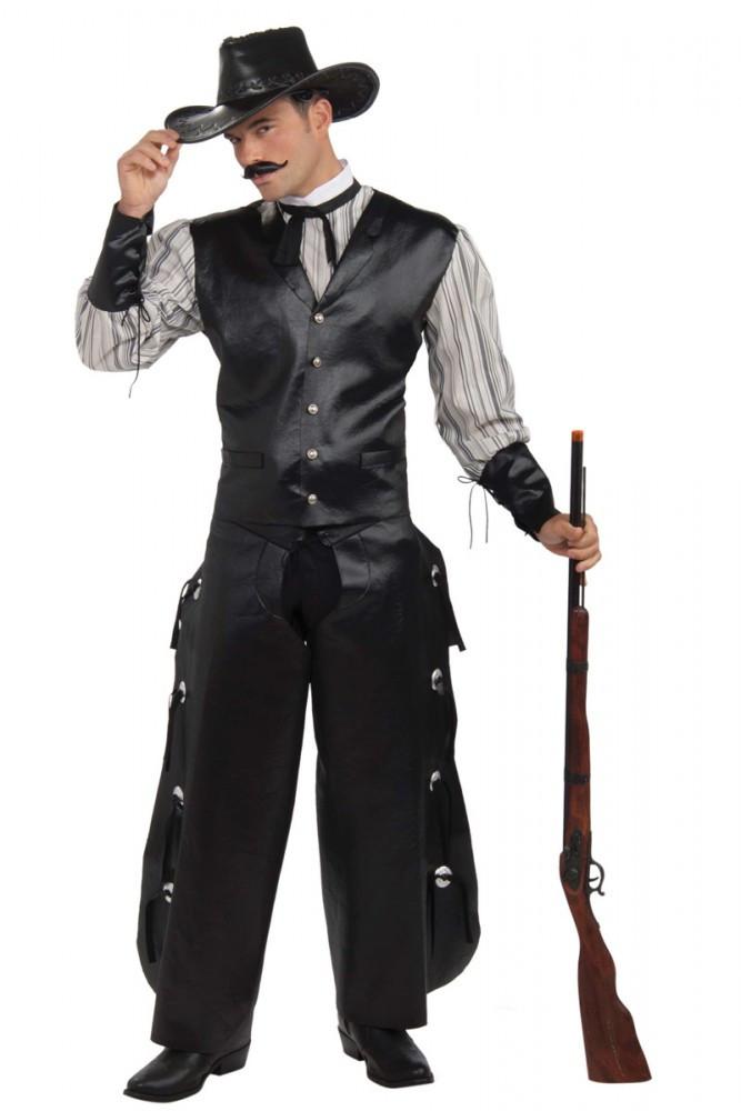 Australian Costume Shop Cowboy Western Gambler Mens