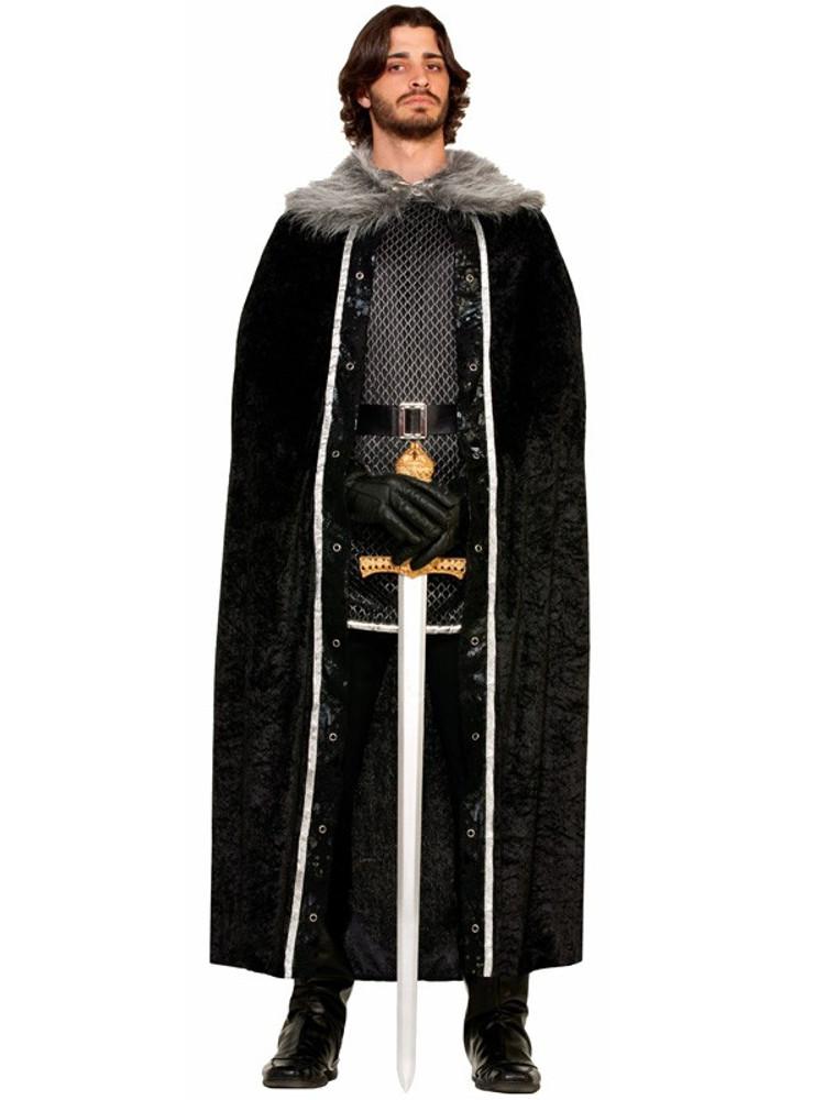 Velvet Fur Trimmed Cape GOT costume accessories
