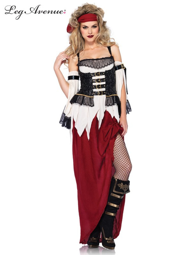 Pirate Buried Treasure Beauty Womens Costume