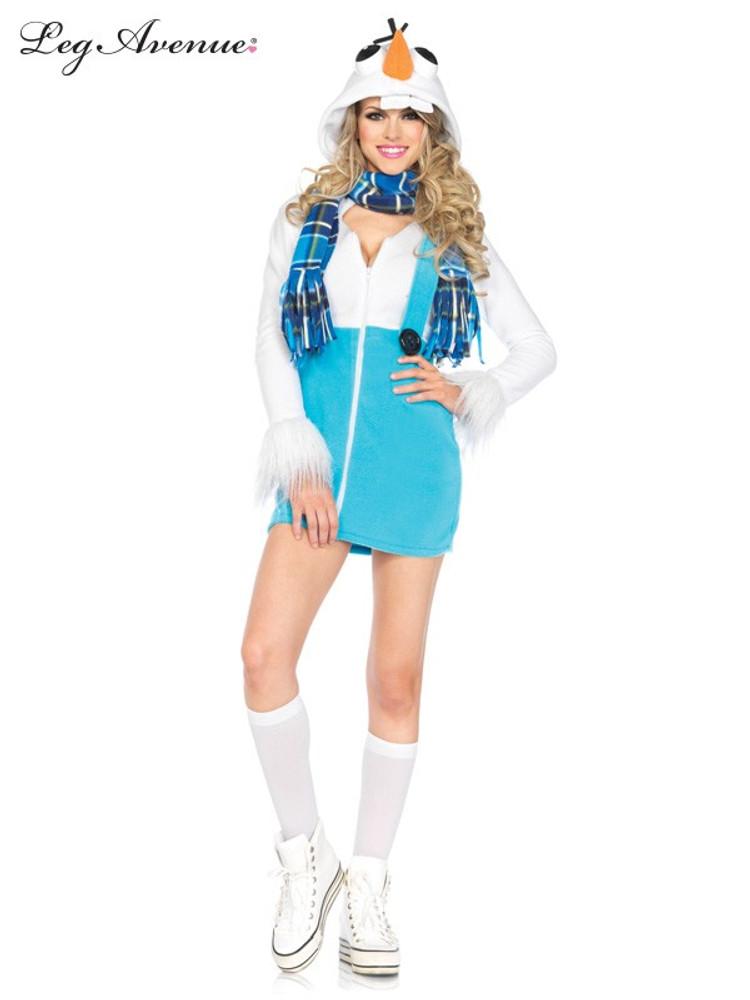 Snowman Cozy Adult Dress