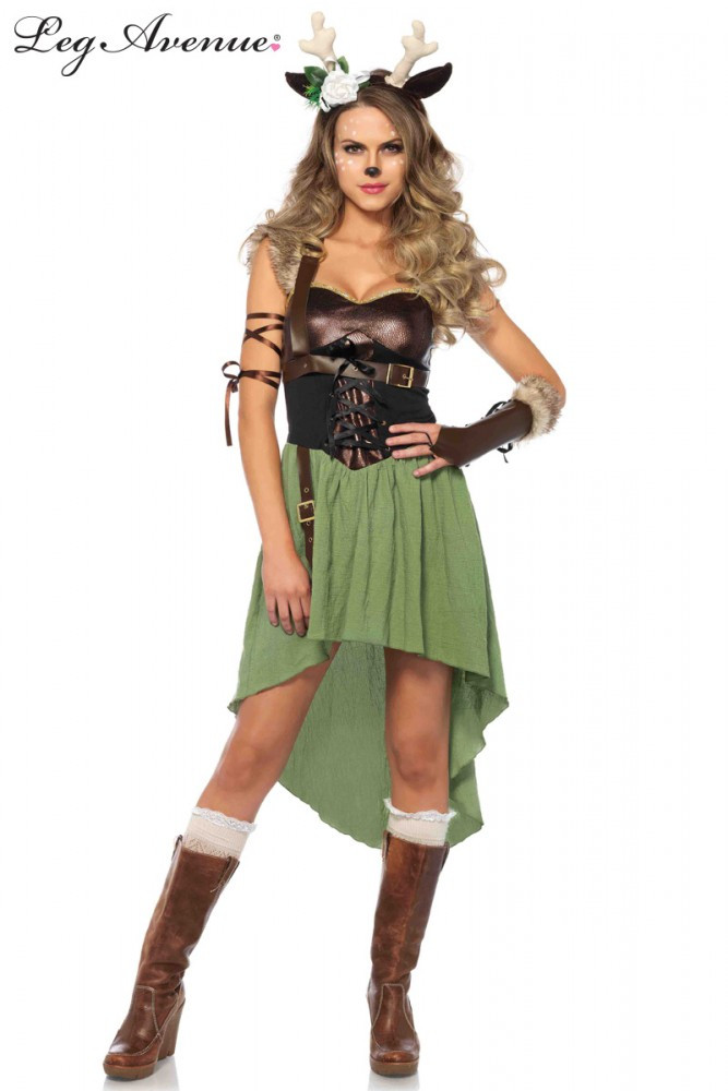 Forest Fawn Womens Costume