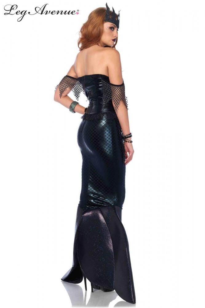 Mermaid Dark Water Siren Womens Costume