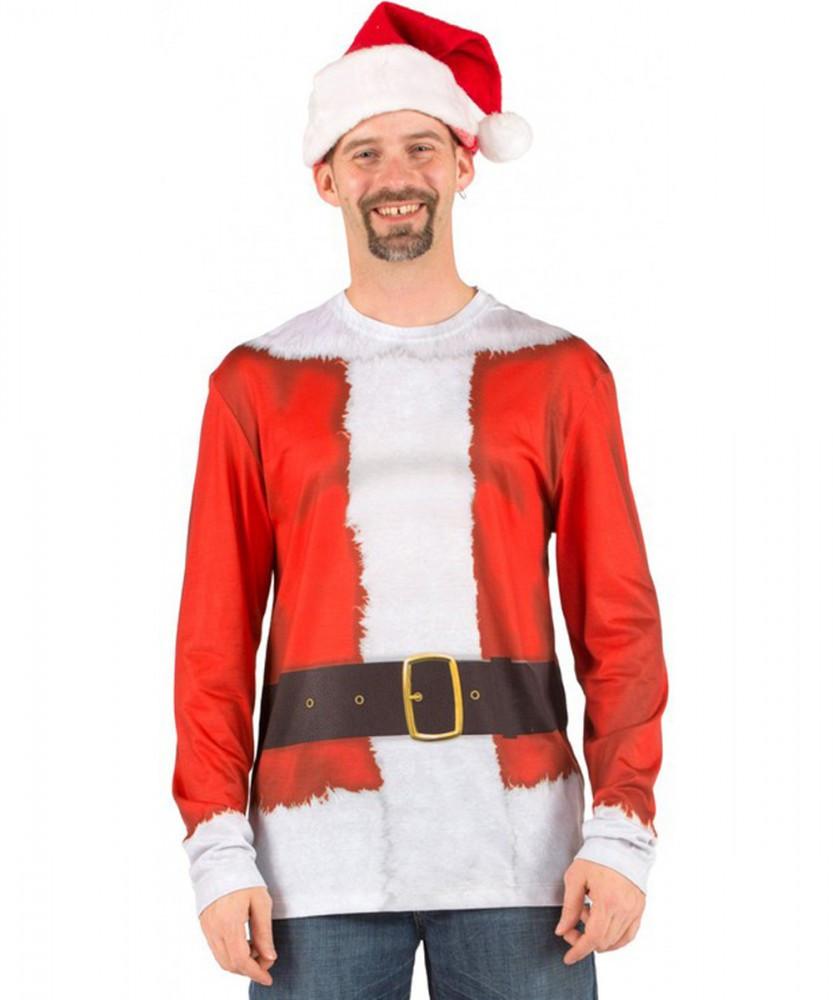 Santa Suit Long Sleeve Top