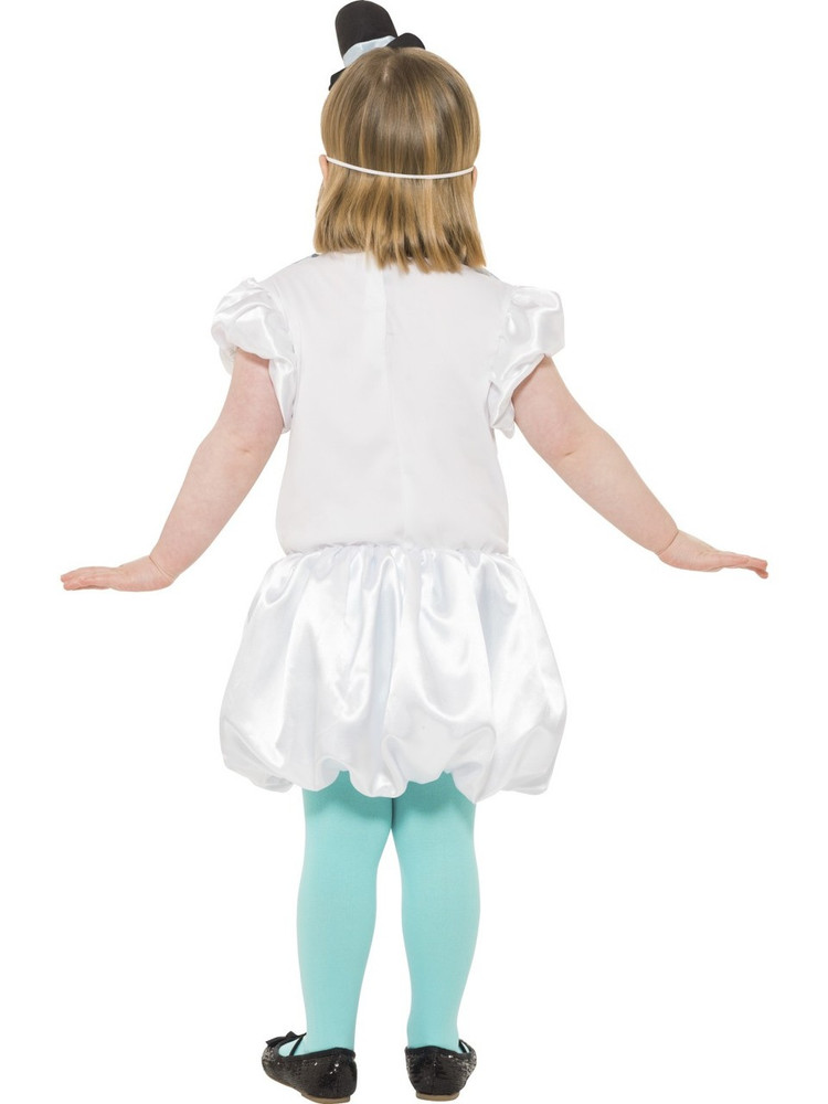 Puffball Snowgirl Kids Costume
