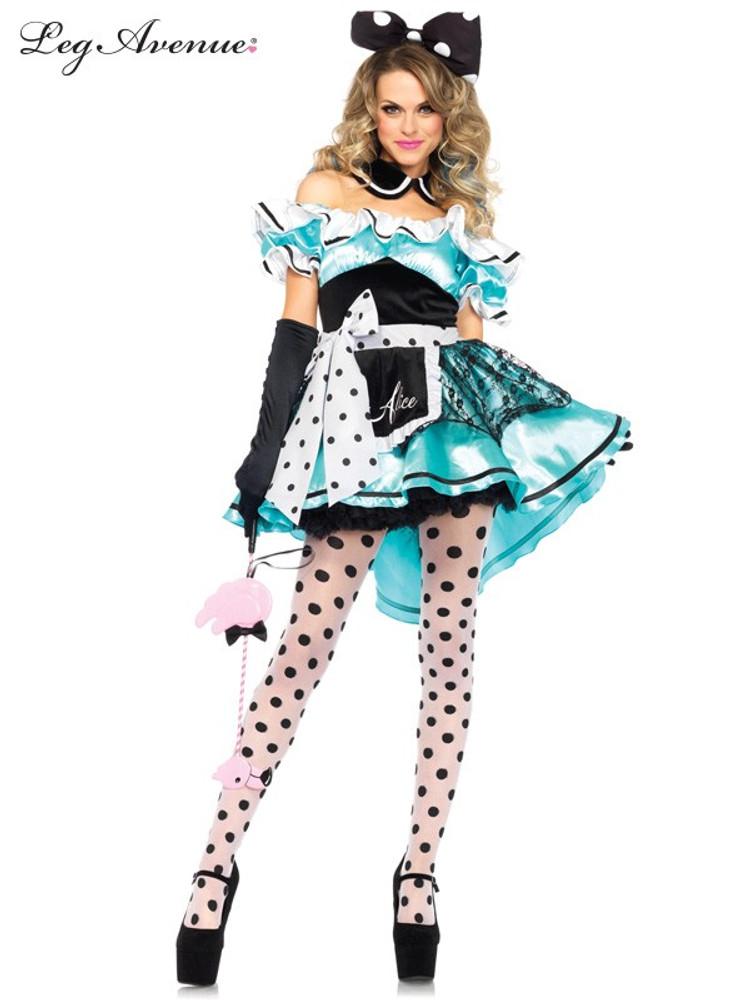 Alice in Wonderland Delightful Alice Womens Costume