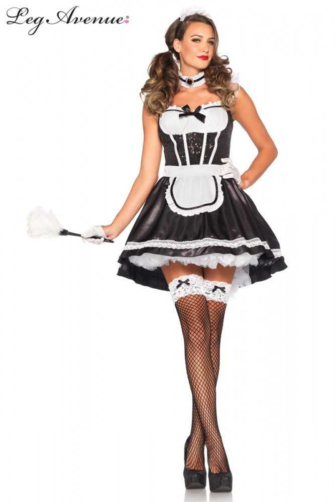 Maid Fiona Featherduster Woman's Costume