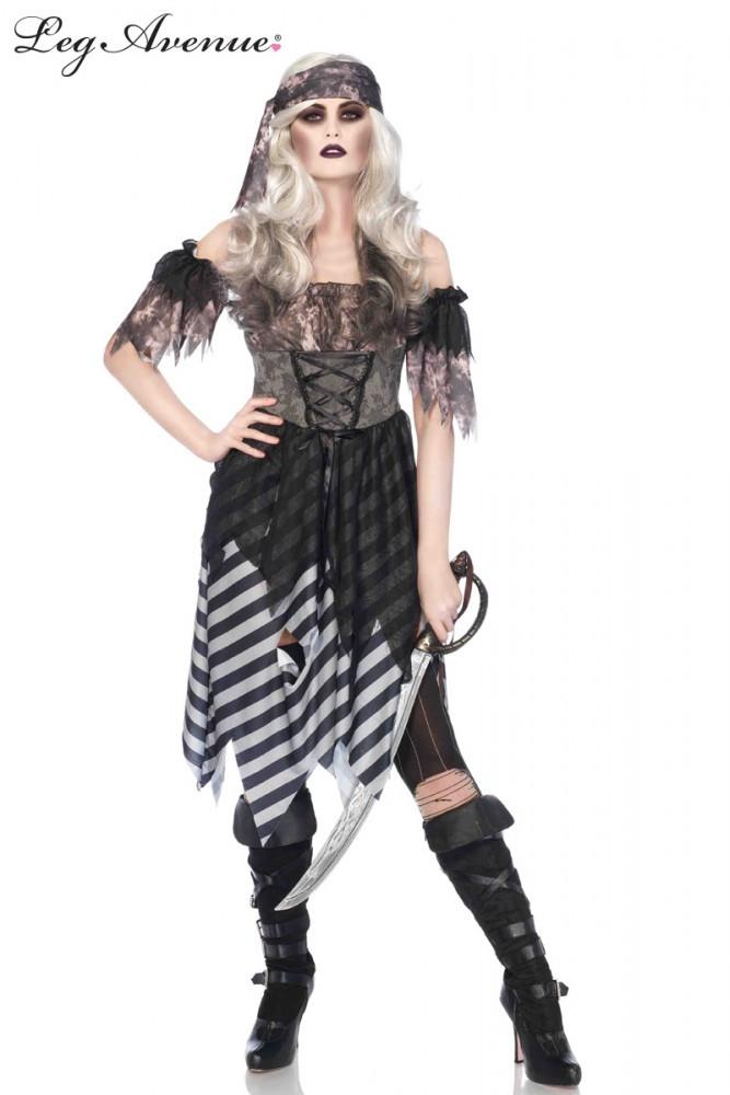 Ghost Pirate Womens Costume