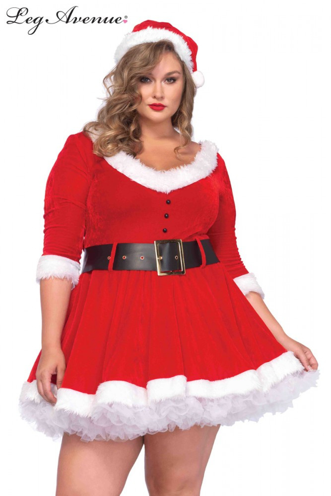 Miss Santa Plus Womens Costume
