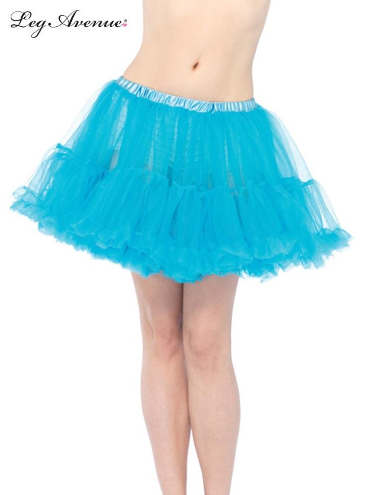 Petticoat Layered Tulle Turquoise