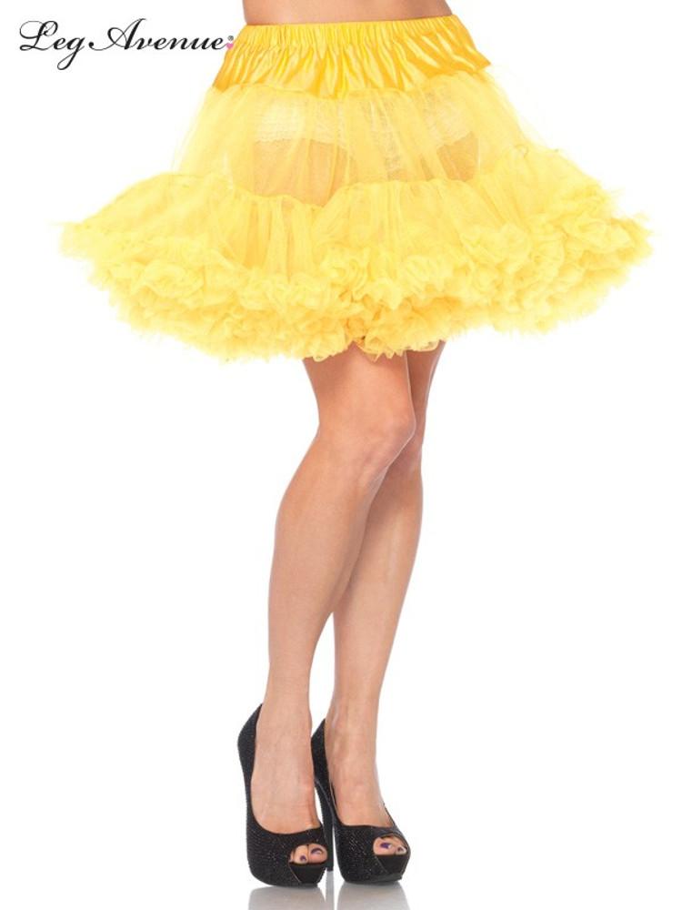Petticoat Layered Tulle Yellow