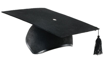 Mortar Board Graduation Hat