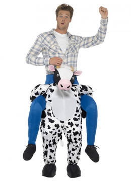 Cow Piggyback Adult Costume