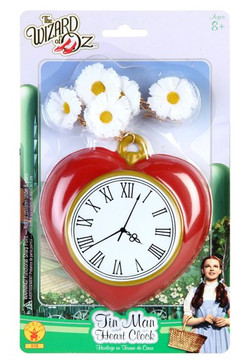 Alice in Wonderland -  Wizard of Oz Heart Clock