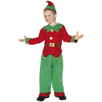 Elf Christmas Kids Costume