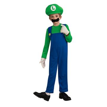 Luigi Child Costume