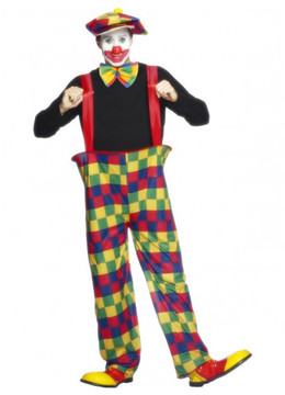 Clown Hooped Costume