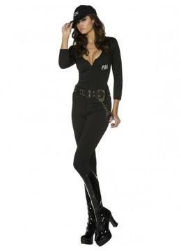 FBI Flirt Womans Costume