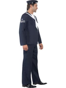Sailor Naval Seaman Mens Costume