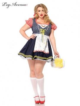 Oktoberfest Beer Stein Babe Plus Size Womens Costume