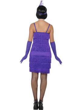 Flapper Purple Womens Costume