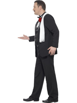 1920s Mens Plus Costume