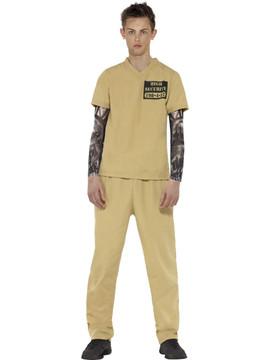 Prisoner Convict Teen Costume