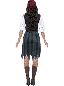 Pirate Deckhand Womens Costume
