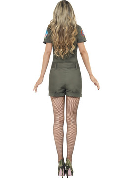 Top Gun Aviator Womens Costume