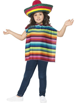 Mexican Poncho Childs Kit