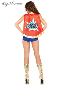 Comic Book Girl Woman's Costume