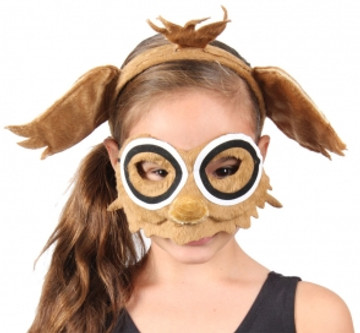 Owl Animal Headband & Mask Set