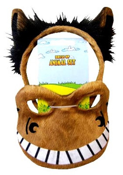 Horse Animal Headband & Mask Set