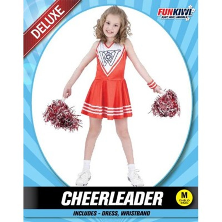 Cheerleader Childs Costume