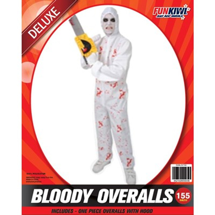 Halloween Bloody Overalls Kids Costume