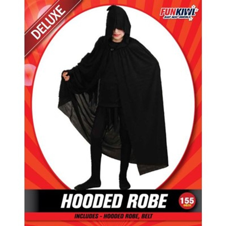 Cape Hooded Kids Costume